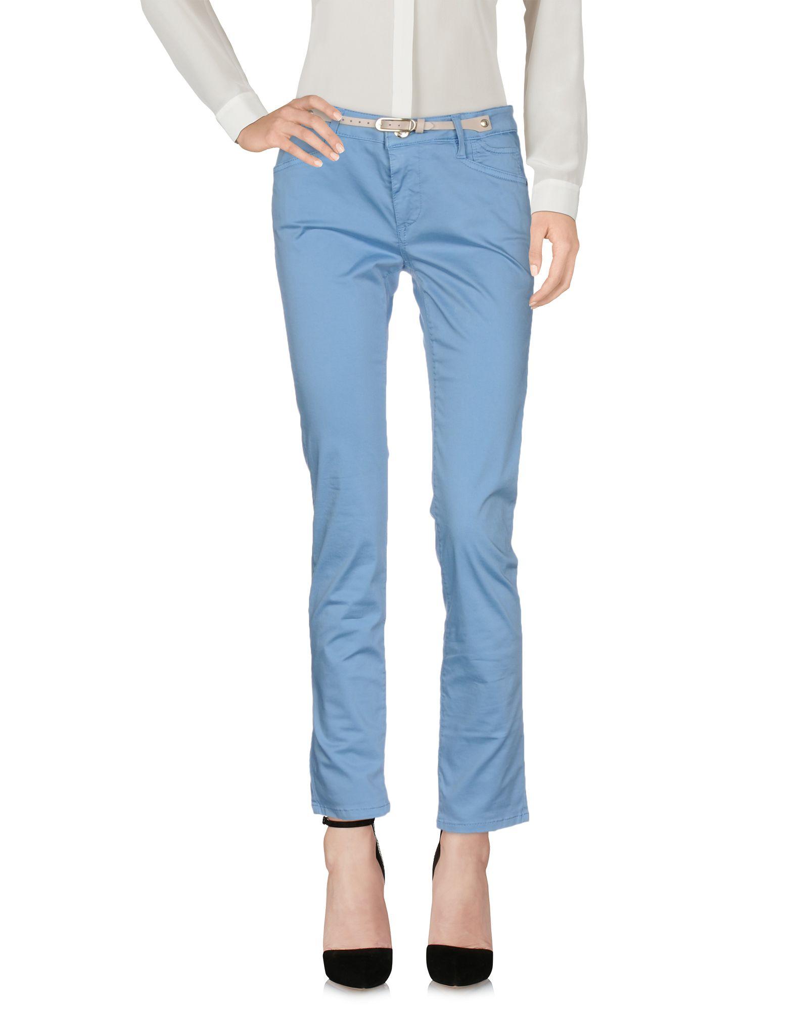 JECKERSON Повседневные брюки брюки узкие с пропиткой 5 карманов длина 30