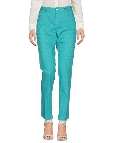 Купить Повседневные брюки от PT0W бирюзового цвета
