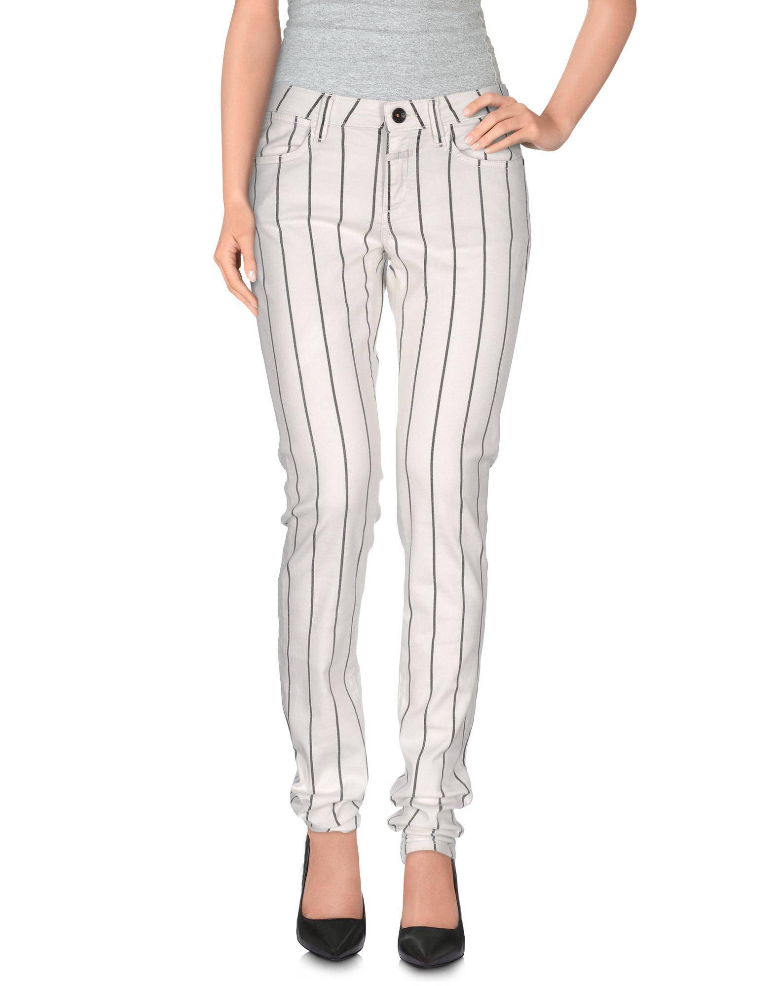 CLOSED Damen Hose Farbe Weiß Größe 4