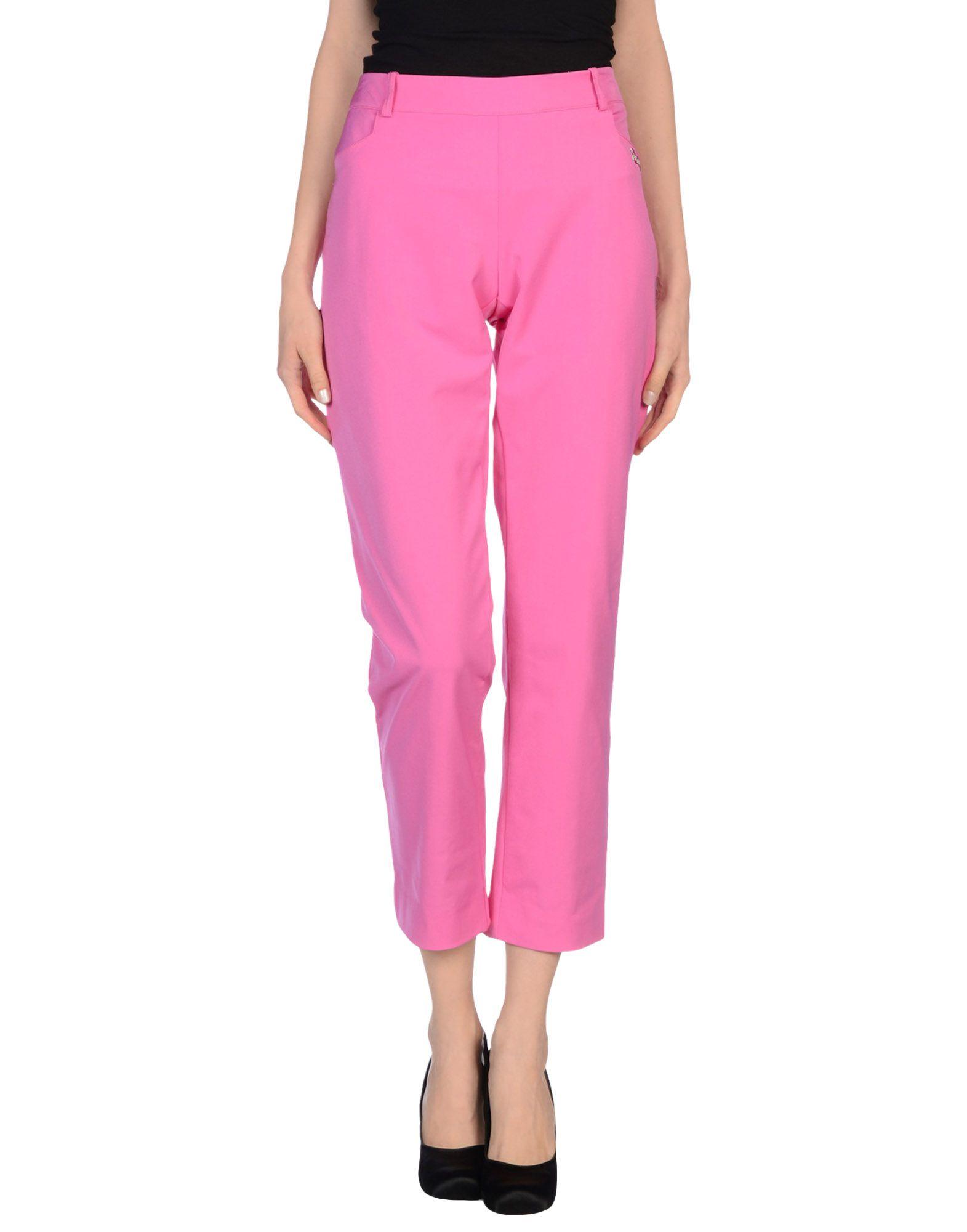 VDP COLLECTION Damen Hose Farbe Fuchsia Größe 5