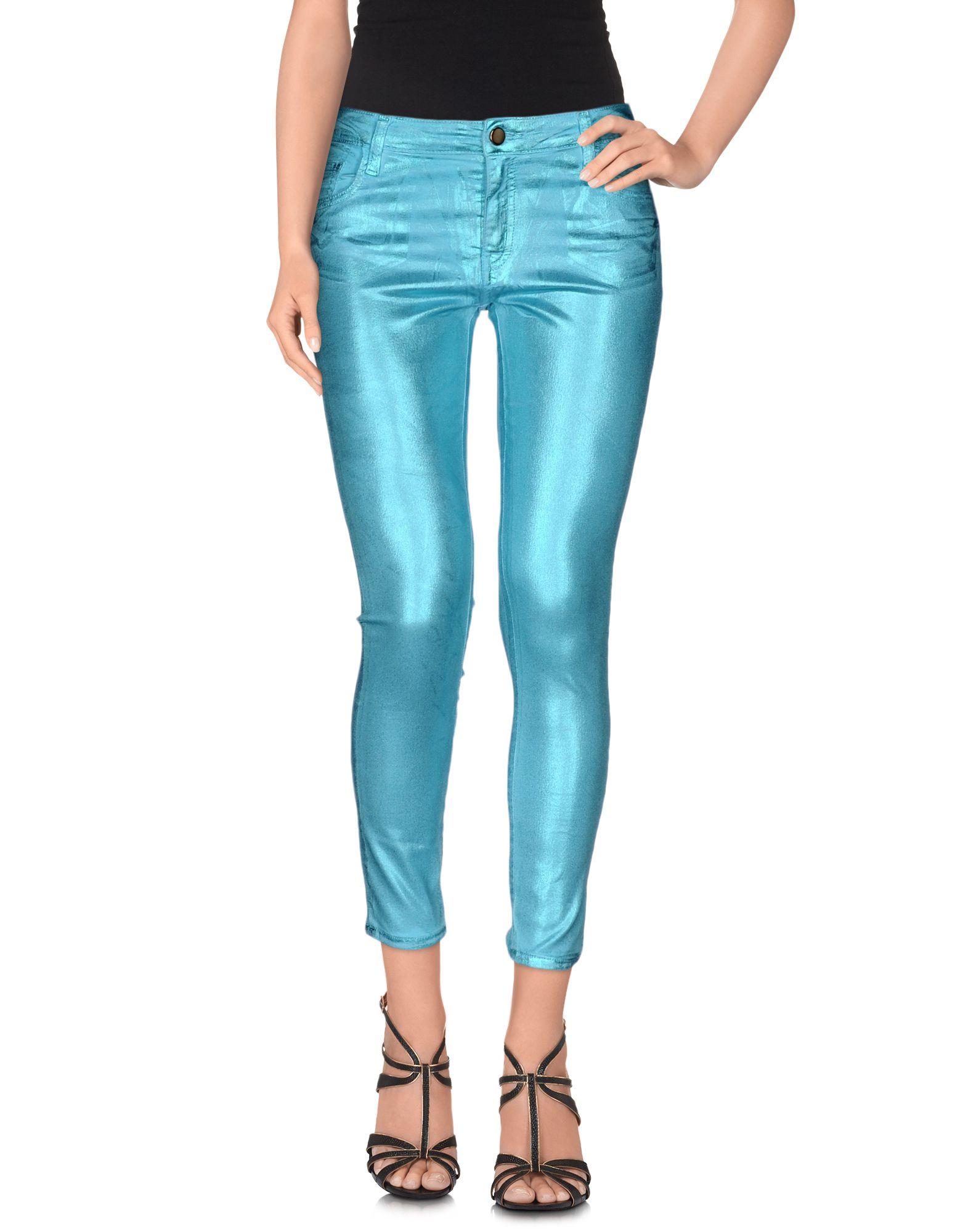 75 FAUBOURG Джинсовые брюки-капри недорго, оригинальная цена