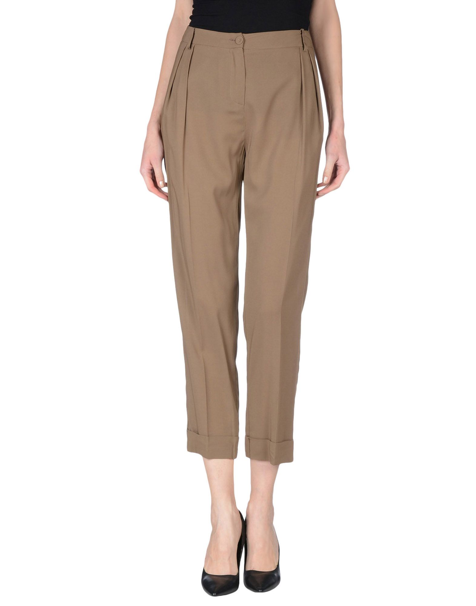 PATRIZIA PEPE SERA Повседневные брюки patrizia pepe джинсы с 5 карманами с широкими штанинами