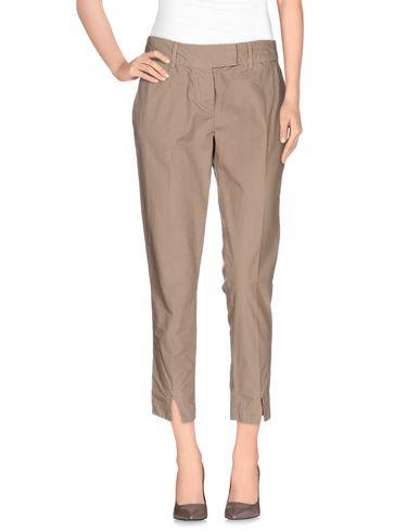 Фото - Повседневные брюки от MANILA GRACE DENIM светло-коричневого цвета