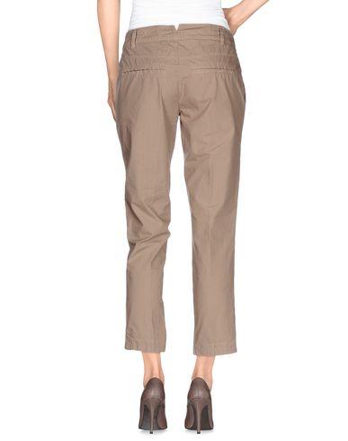 Фото 2 - Повседневные брюки от MANILA GRACE DENIM светло-коричневого цвета