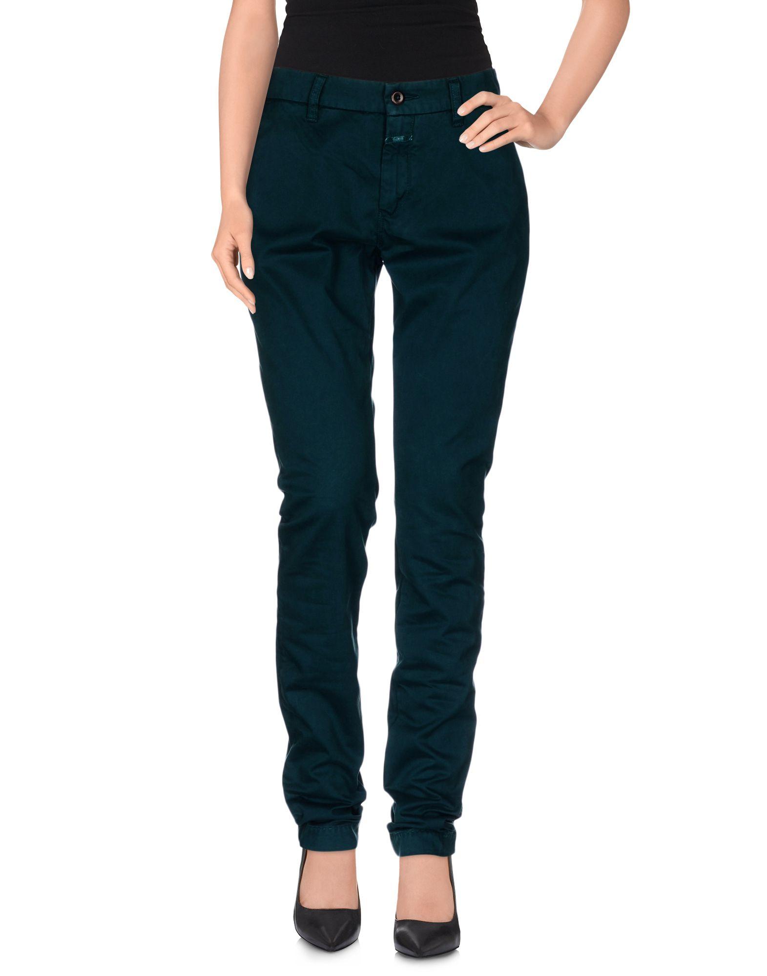 CLOSED Damen Hose Farbe Dunkelgrün Größe 3