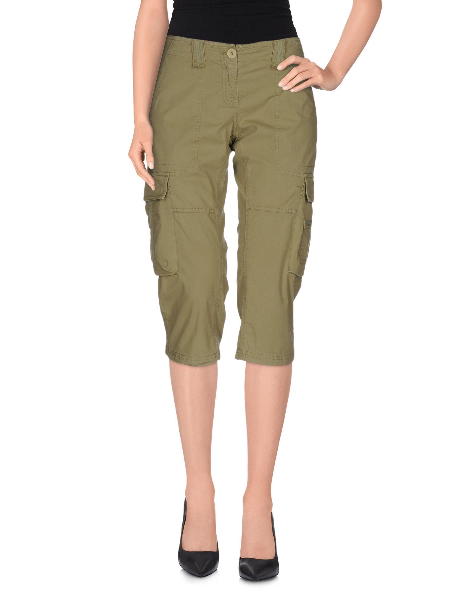 MEETING Брюки-капри брюки женские pants meeting из полупрозрачного хлопка