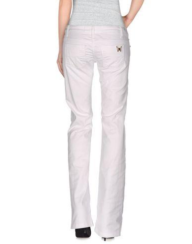 Фото 2 - Повседневные брюки от ELISABETTA FRANCHI JEANS белого цвета