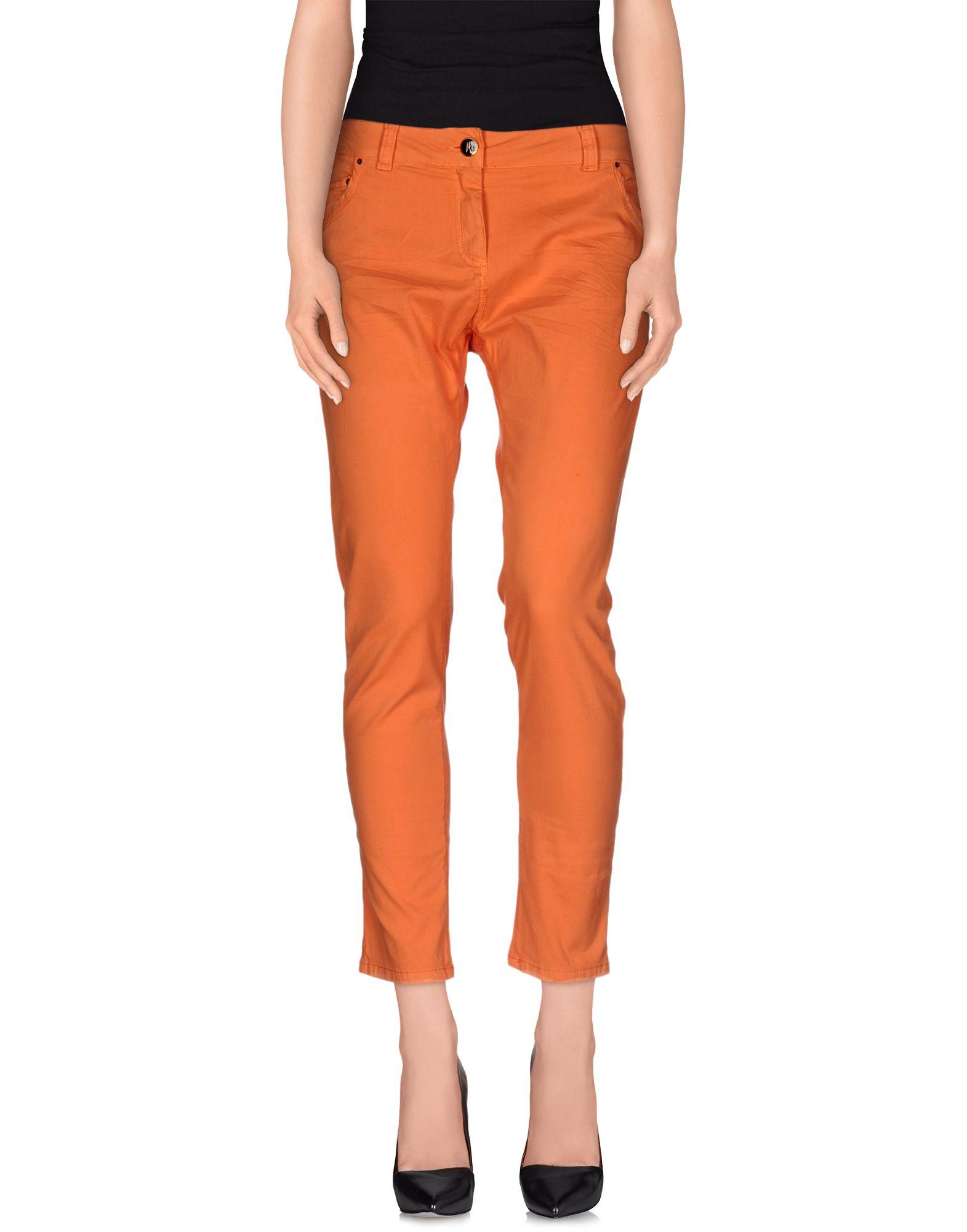 ANIYE BY Damen Hose Farbe Orange Größe 7