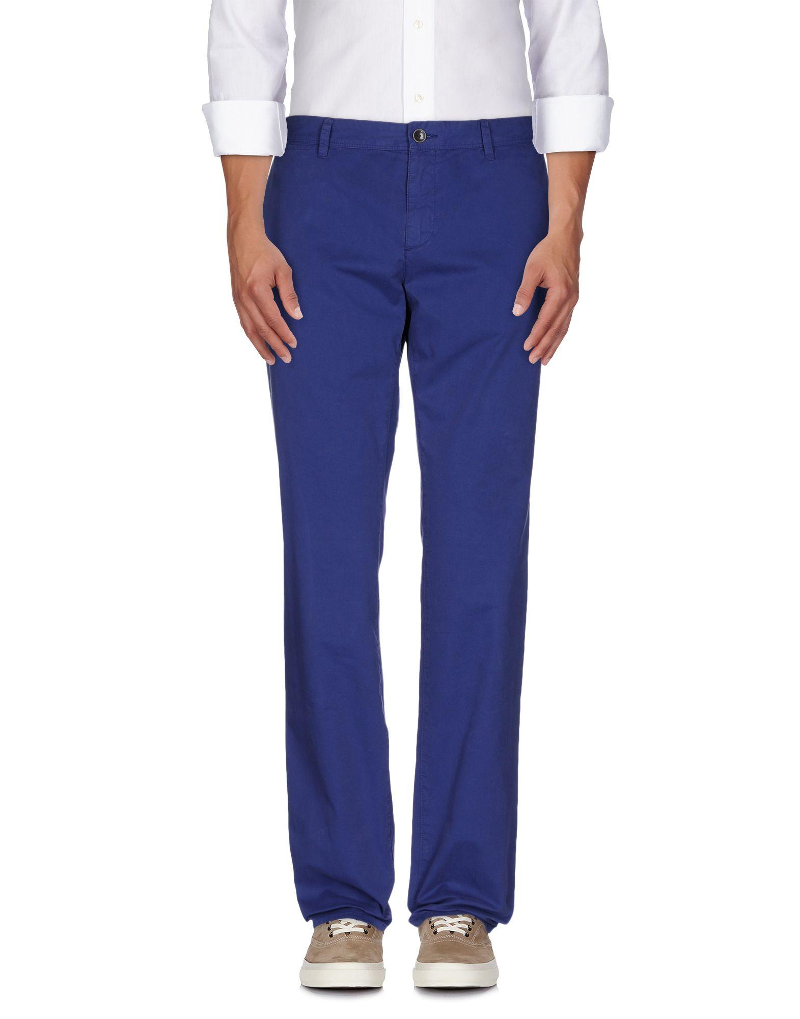 《送料無料》BALLANTYNE メンズ パンツ ブルー 50 コットン 100%