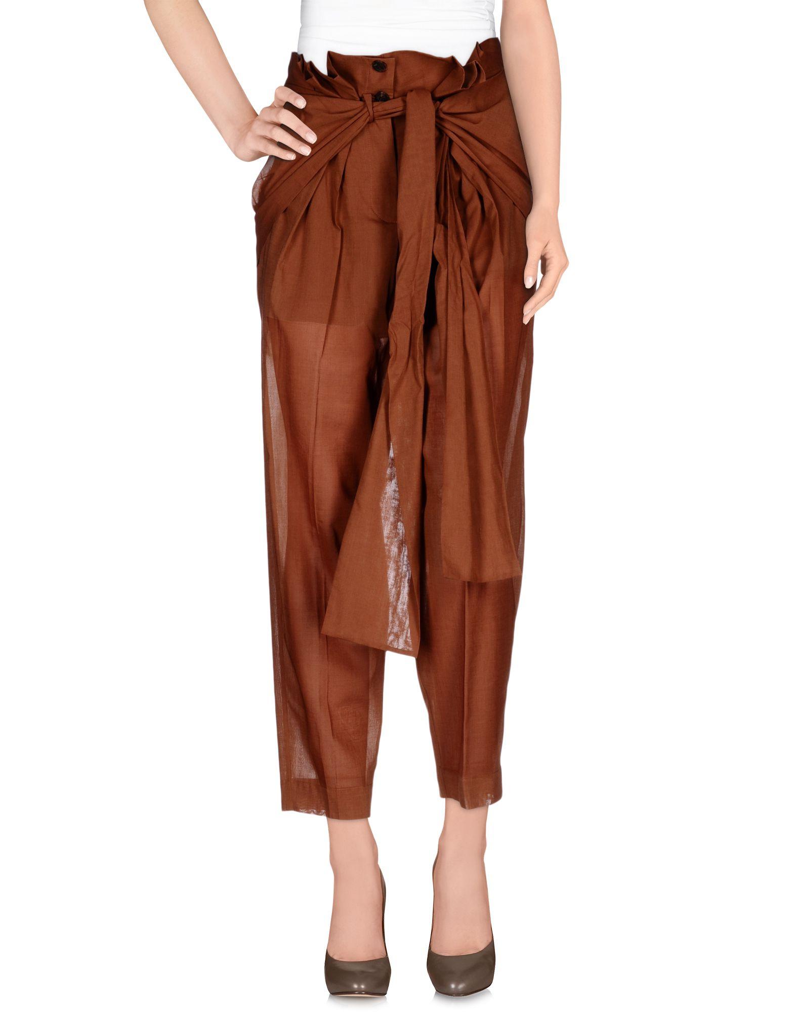 где купить  JONATHAN SAUNDERS Повседневные брюки  по лучшей цене