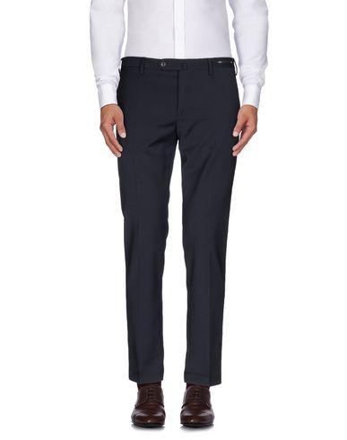 Купить Повседневные брюки от PT01 темно-синего цвета