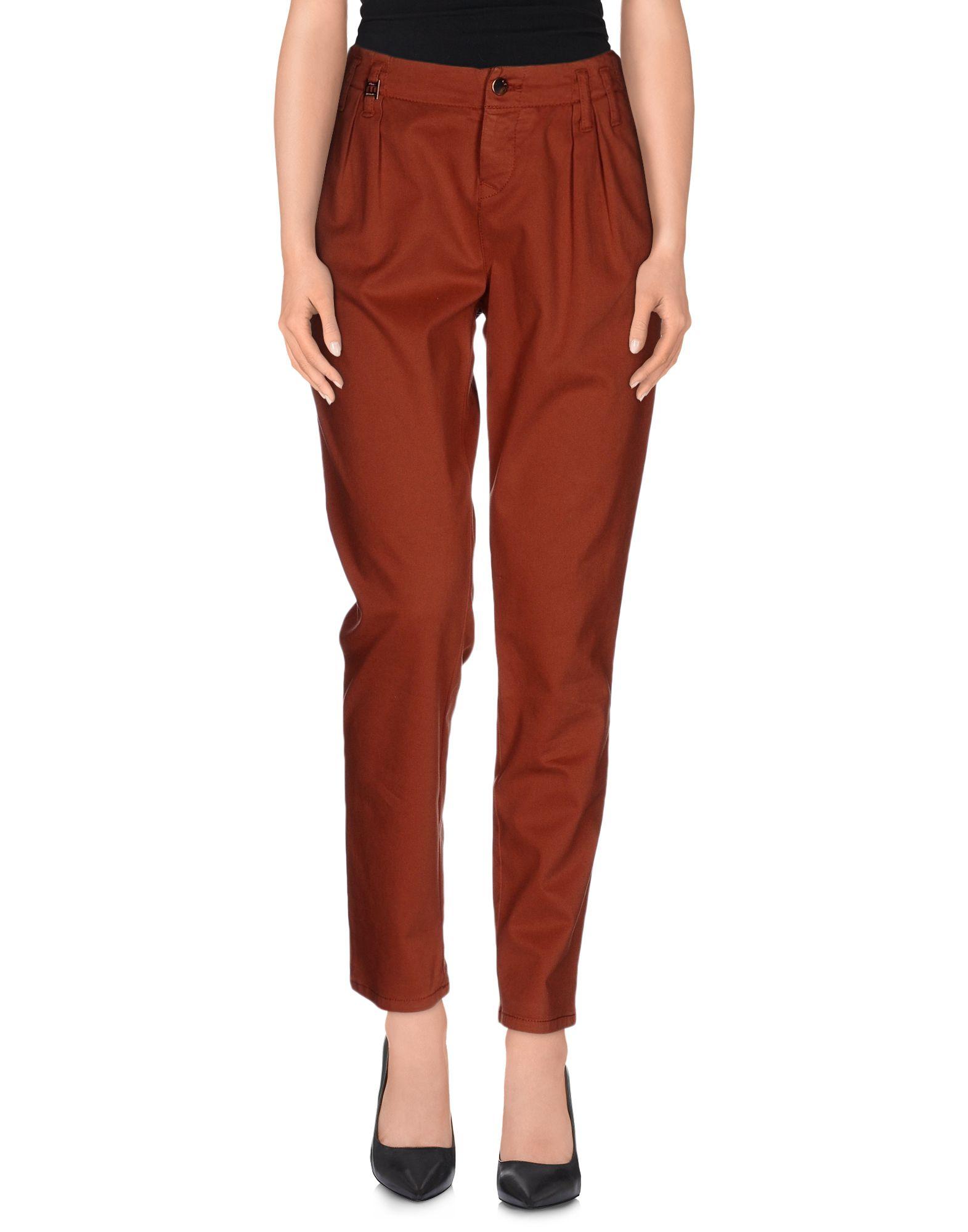MET JEANS Повседневные брюки flare jeans повседневные брюки