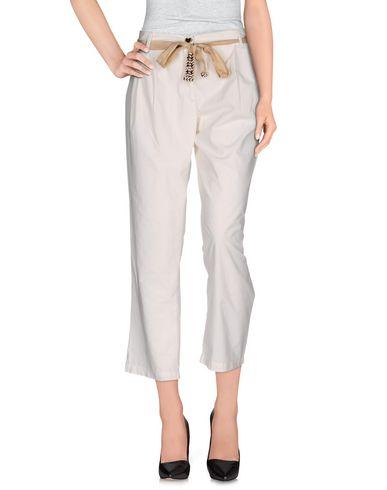 Фото - Повседневные брюки от TWIN-SET JEANS белого цвета