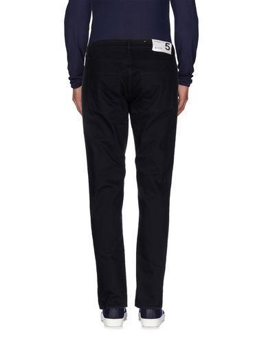 Фото 2 - Джинсовые брюки от DEPARTMENT 5 темно-синего цвета