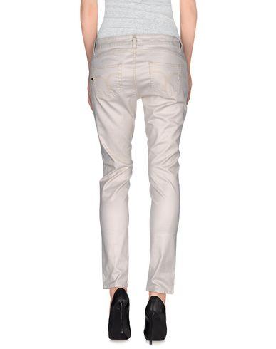 Фото 2 - Повседневные брюки от TWIN-SET JEANS цвет слоновая кость