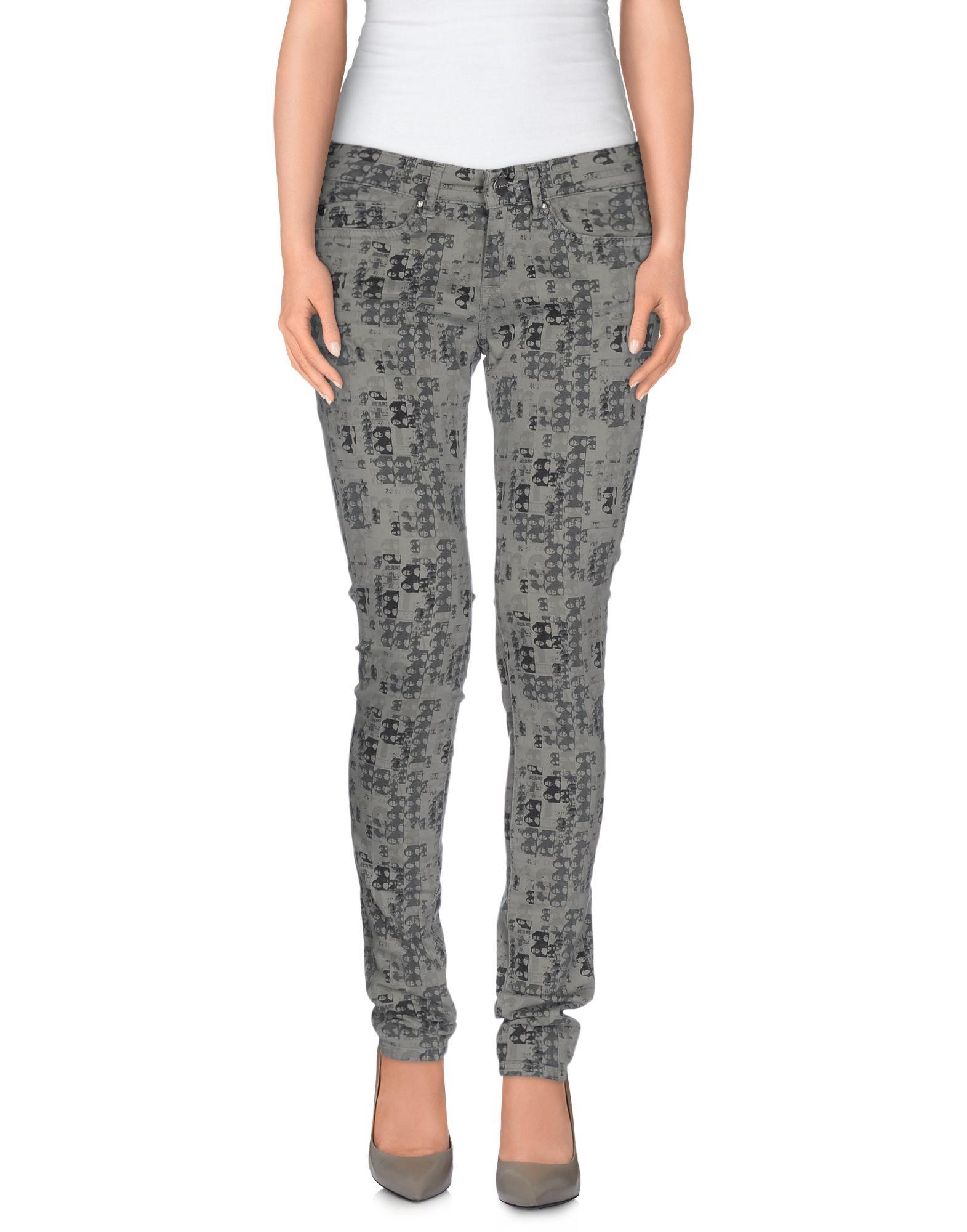 цена ANDY WARHOL by PEPE JEANS Повседневные брюки онлайн в 2017 году