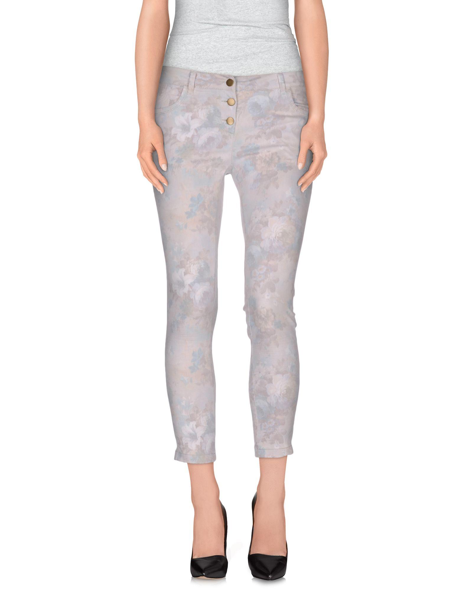 CRISTINA GAVIOLI JEANS Повседневные брюки брюки cristina gavioli брюки широкие