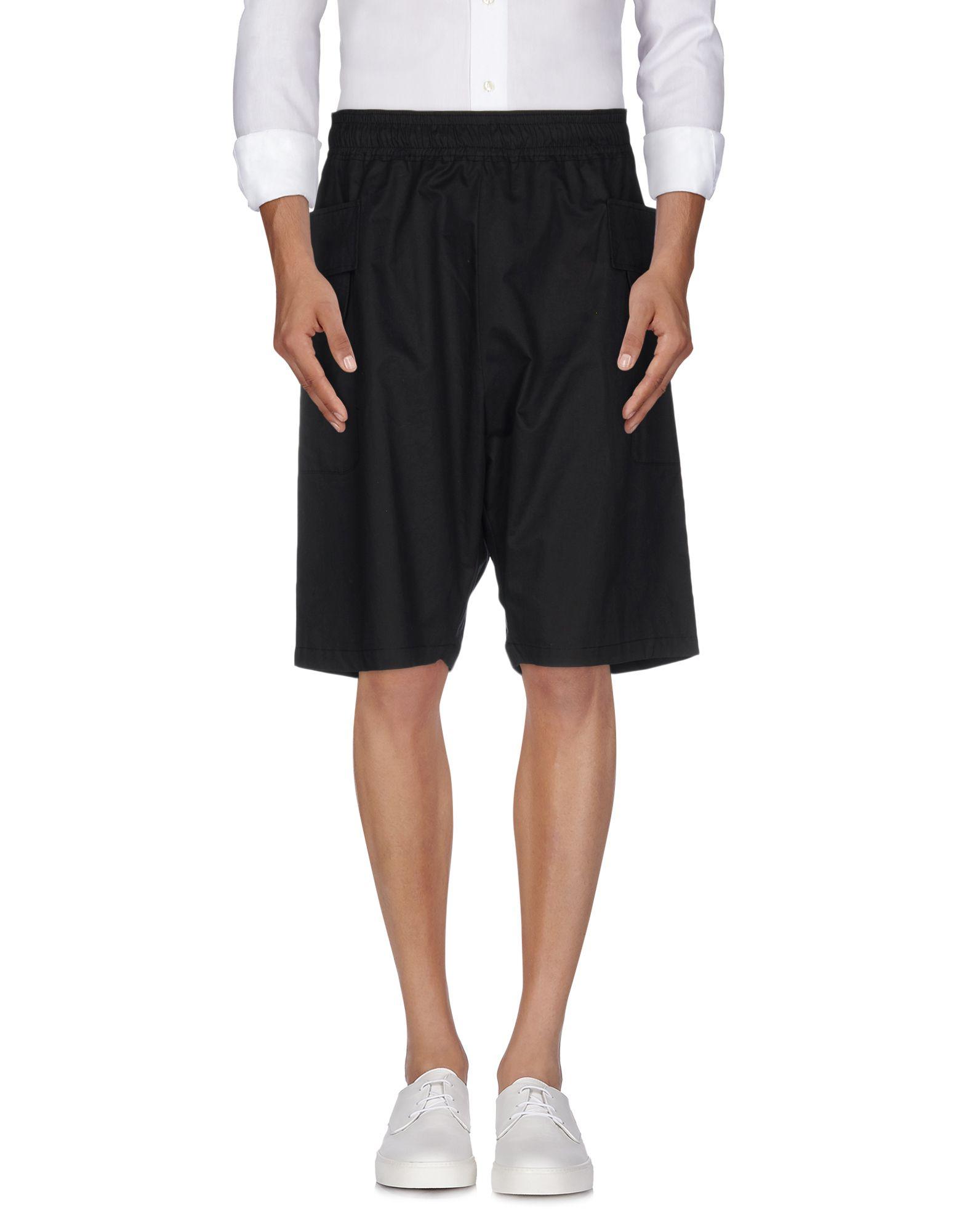 《送料無料》DAMIR DOMA メンズ バミューダパンツ ブラック M コットン 100%