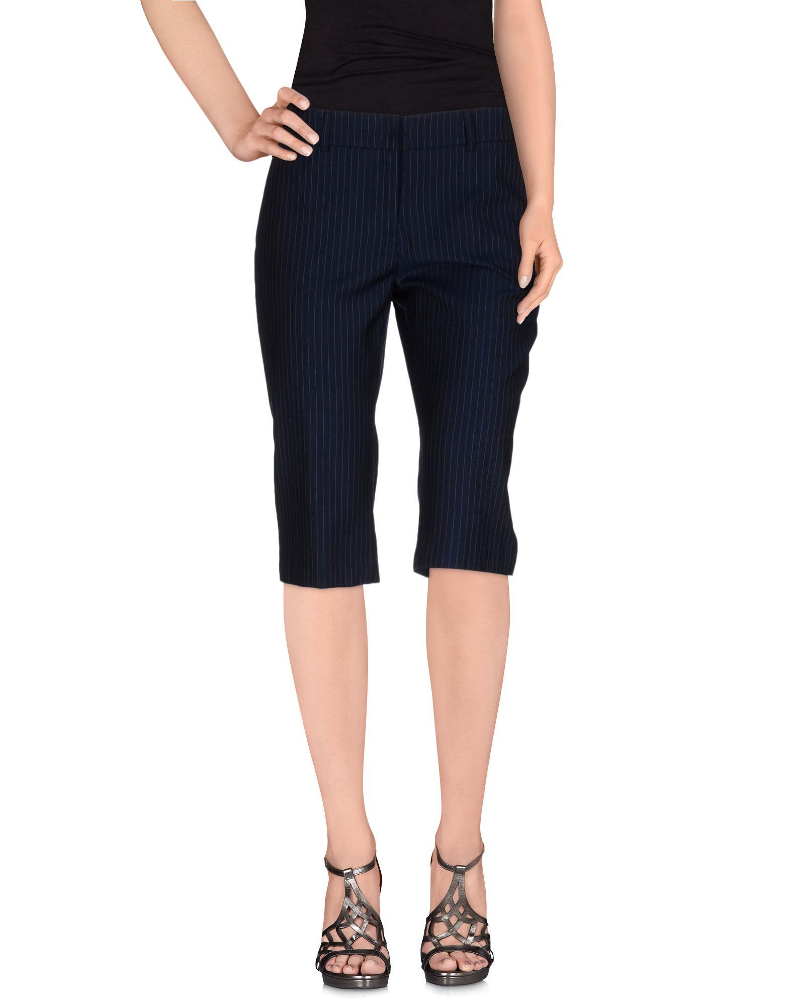 AU JOUR LE JOUR Бермуды olympia le tan джинсовые брюки