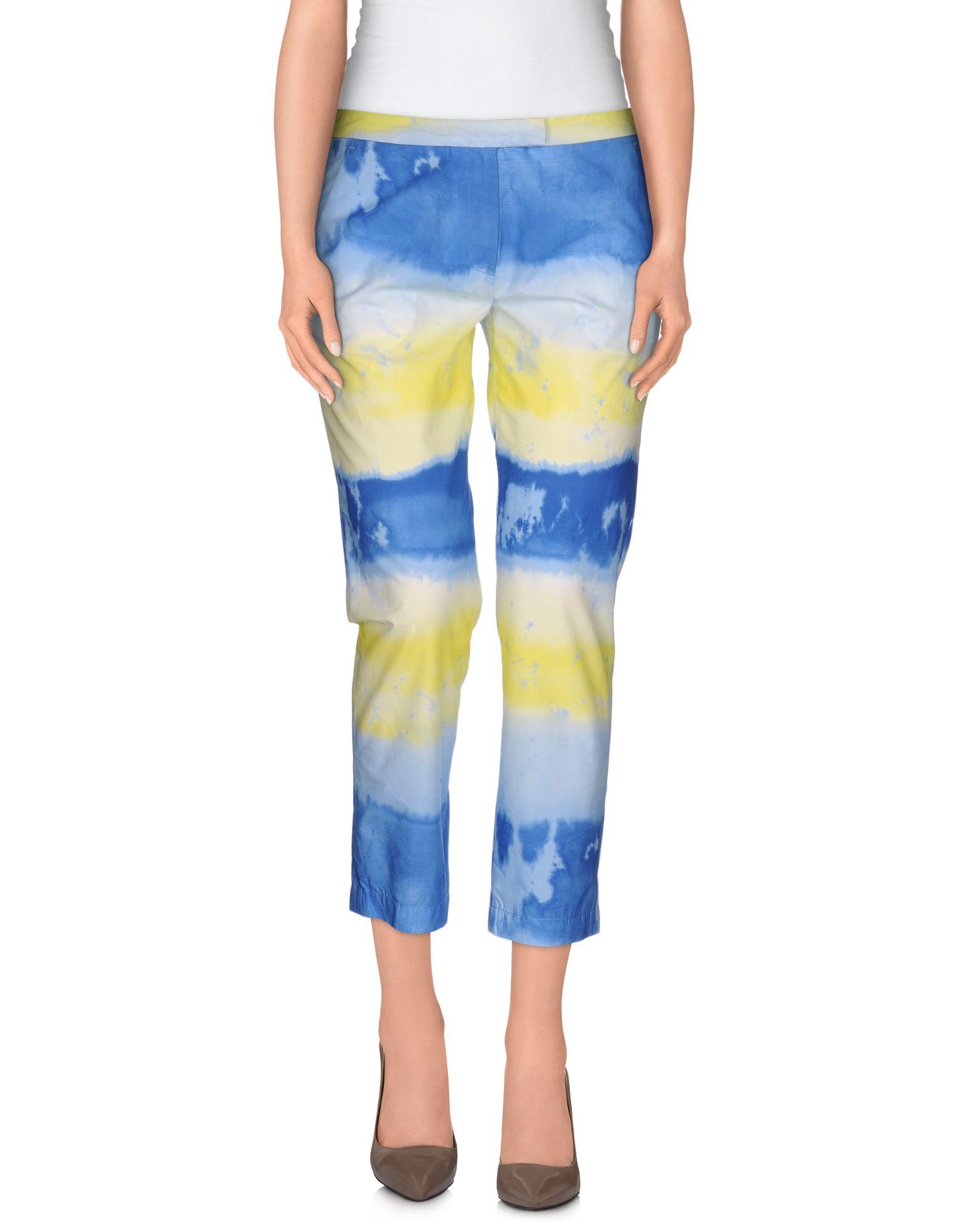 MSGM Damen Hose Farbe Azurblau Größe 5