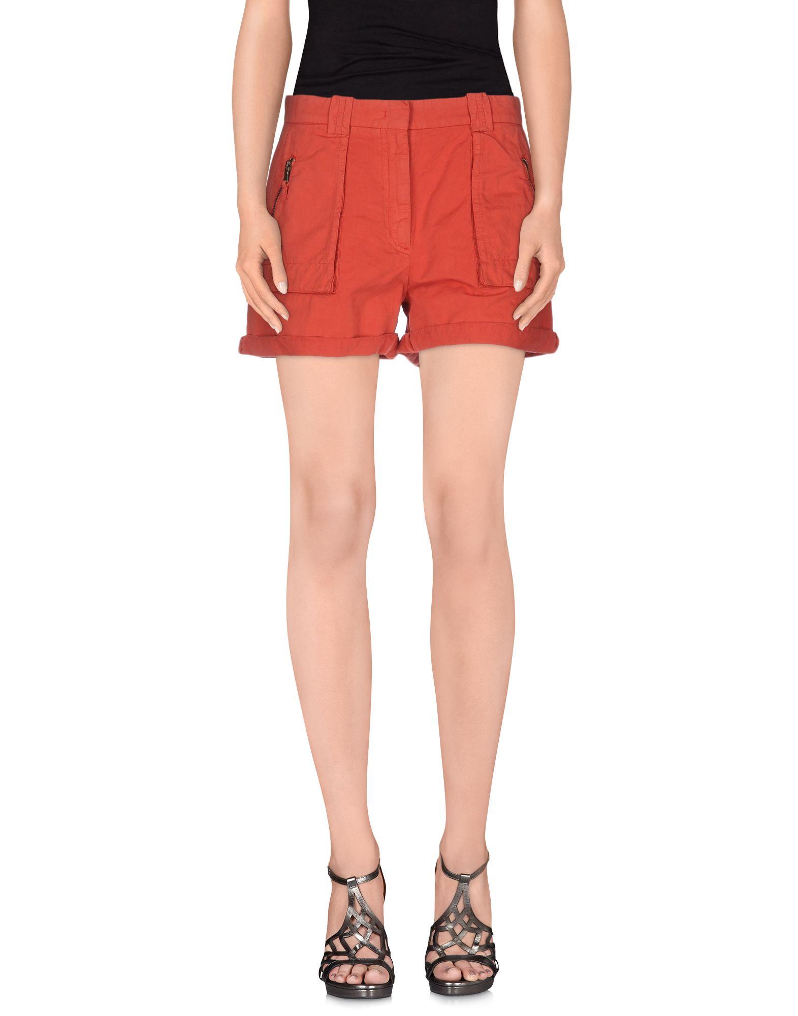 INCOTEX RED Повседневные шорты jonathan simkhai повседневные шорты
