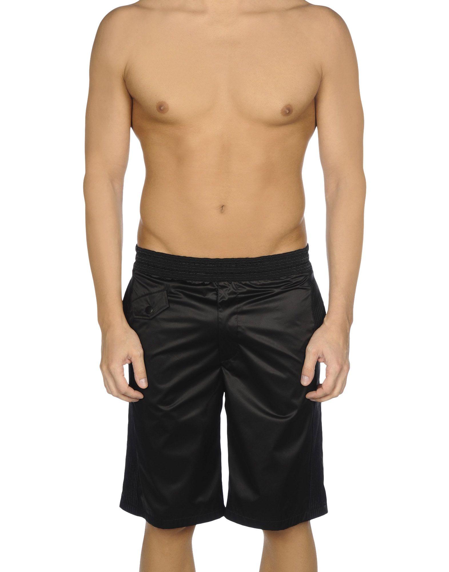 《送料無料》MARC JACOBS メンズ バミューダパンツ ブラック M 100% ポリエステル
