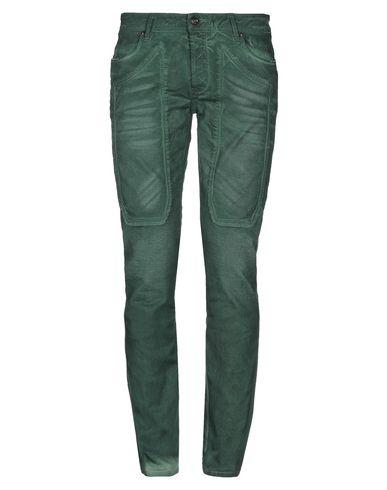 Купить Джинсовые брюки зеленого цвета