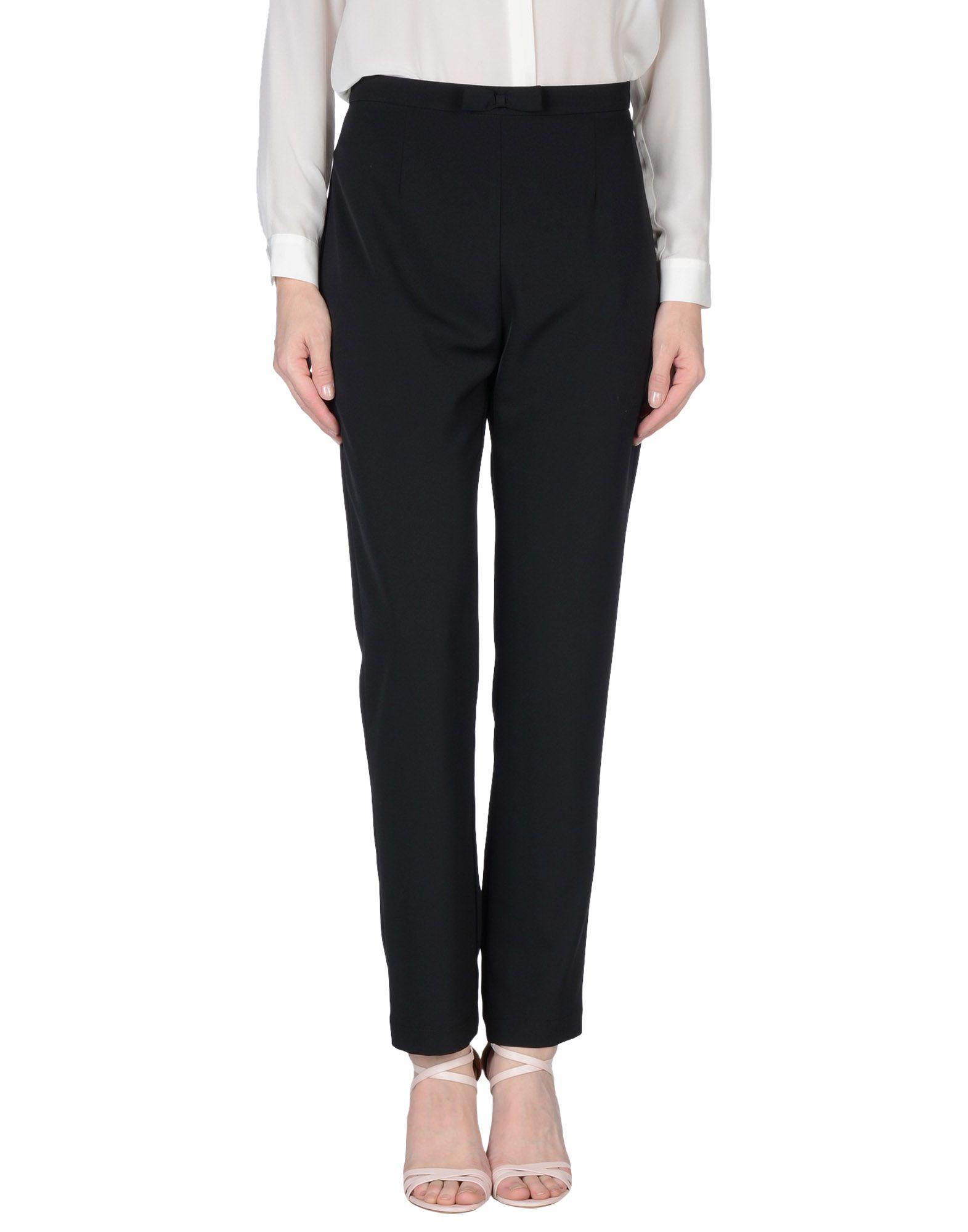 LES BLANC Повседневные брюки poivre blanc брюки мембранные w16 0922 jrby на лямках черный