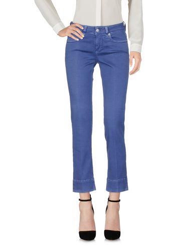 Фото - Повседневные брюки от ATELIER NOTIFY грифельно-синего цвета