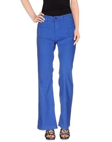 Фото - Джинсовые брюки от SWILDENS ярко-синего цвета