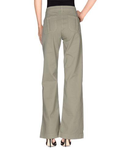 Фото 2 - Джинсовые брюки от SWILDENS цвет зеленый-милитари