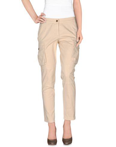Фото - Повседневные брюки от SIVIGLIA бежевого цвета