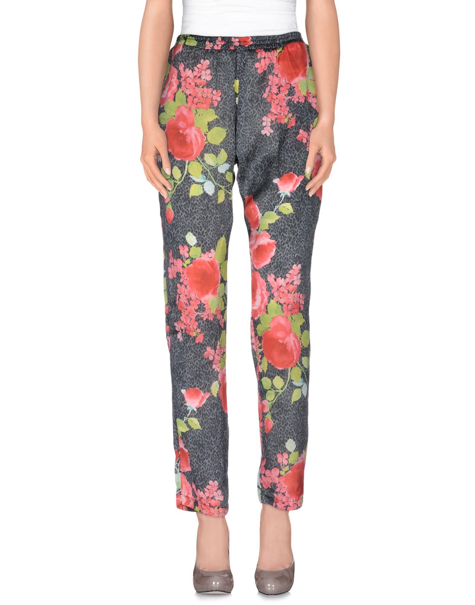 BLUMARINE FOLIES Повседневные брюки футболка mango 43083505 2015 89
