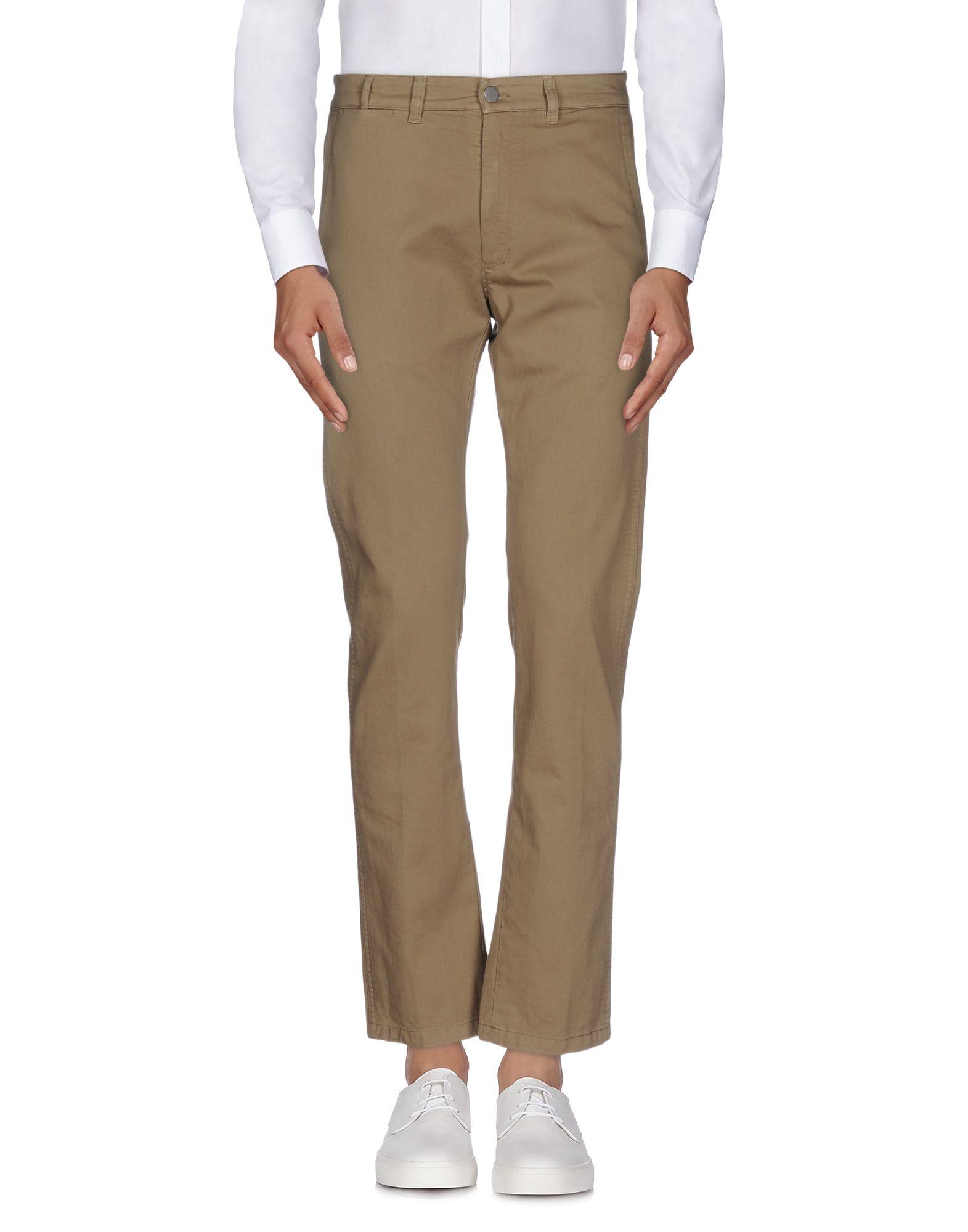 《送料無料》MAURO GRIFONI メンズ パンツ ミリタリーグリーン 50 コットン 100%
