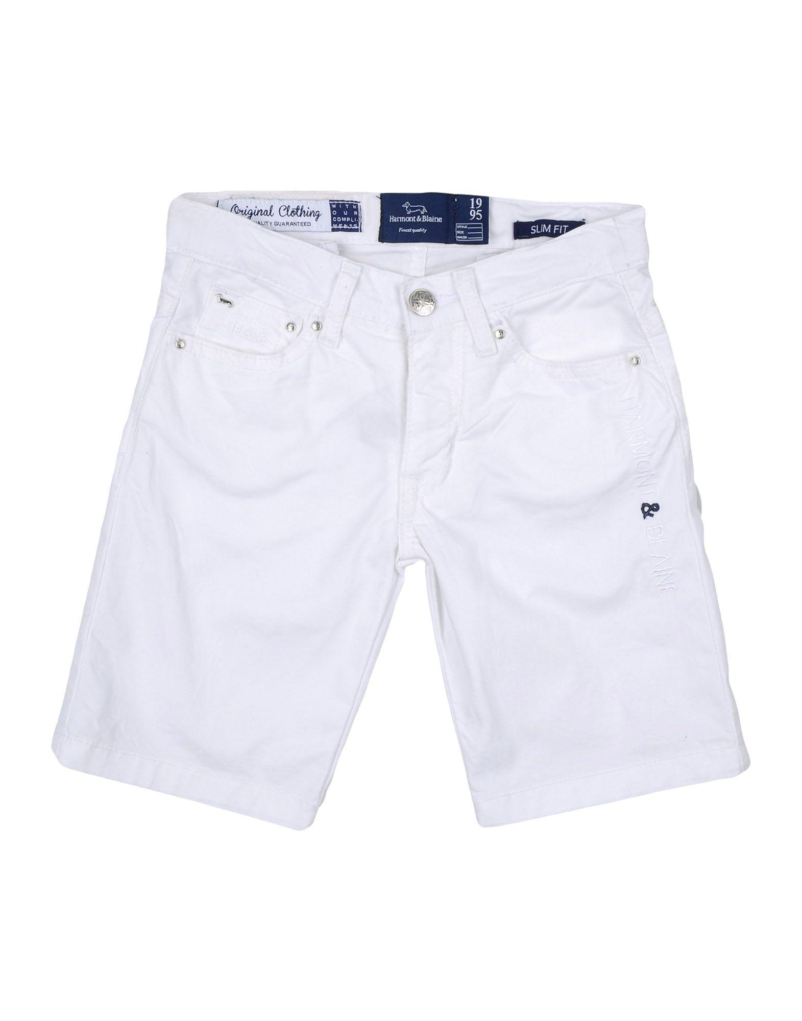 HARMONT&BLAINE Jungen 3-8 jahre Bermudashorts Farbe Weiß Größe 1