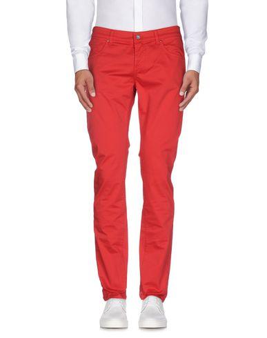 Фото - Повседневные брюки от DNM-BRAND красного цвета