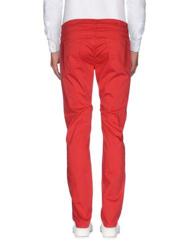Фото 2 - Повседневные брюки от DNM-BRAND красного цвета