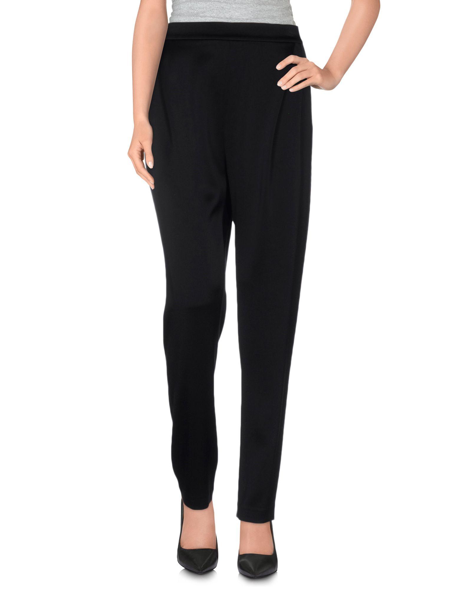 DEREK LAM 10 CROSBY Damen Hose Farbe Schwarz Größe 4