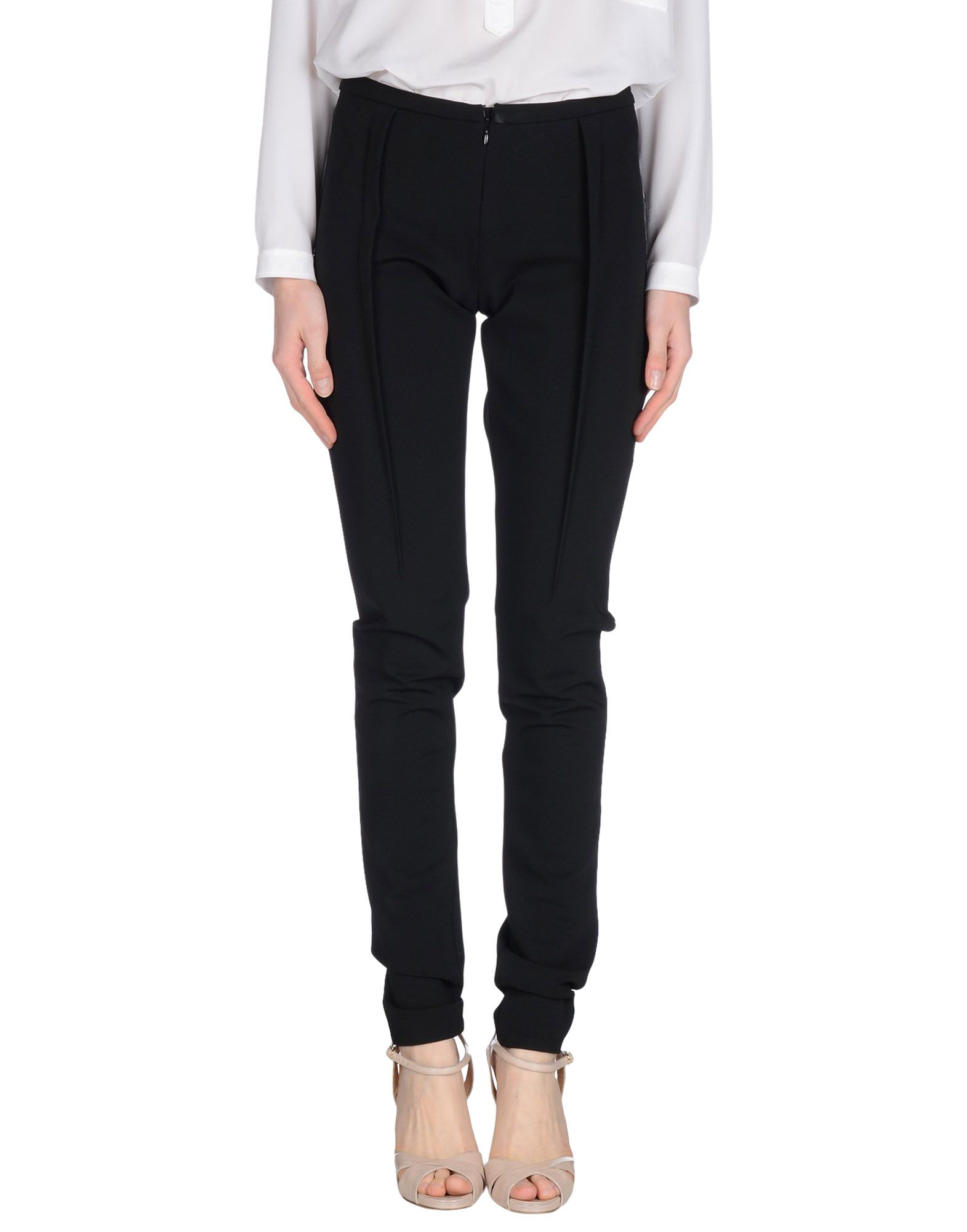 LUTZ HUELLE Casual Pants in Black