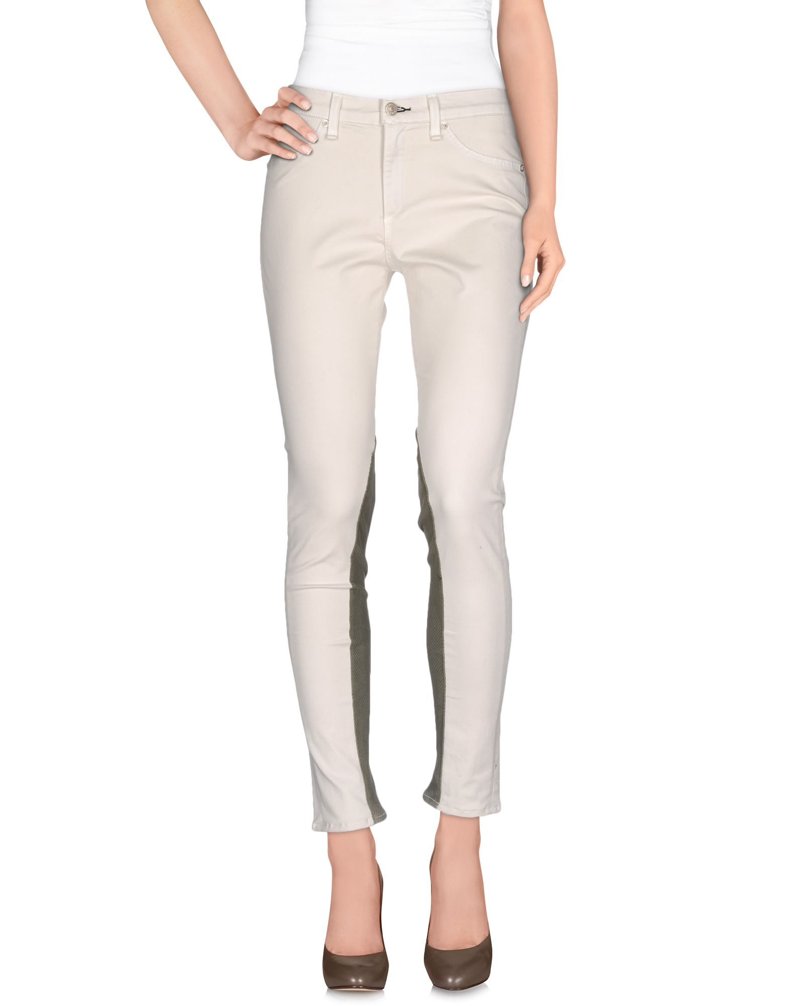 RAG & BONE/JEAN Повседневные брюки колготки молочного цвета catimini ут 00017629