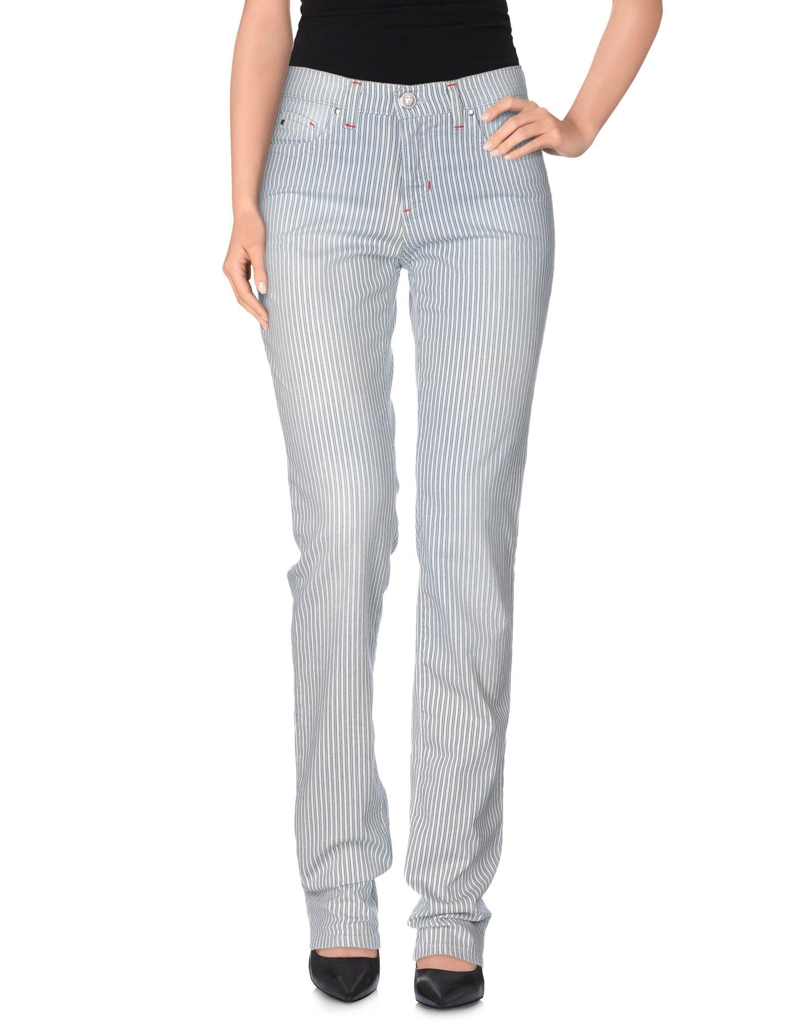 ФОТО trussardi jeans повседневные брюки