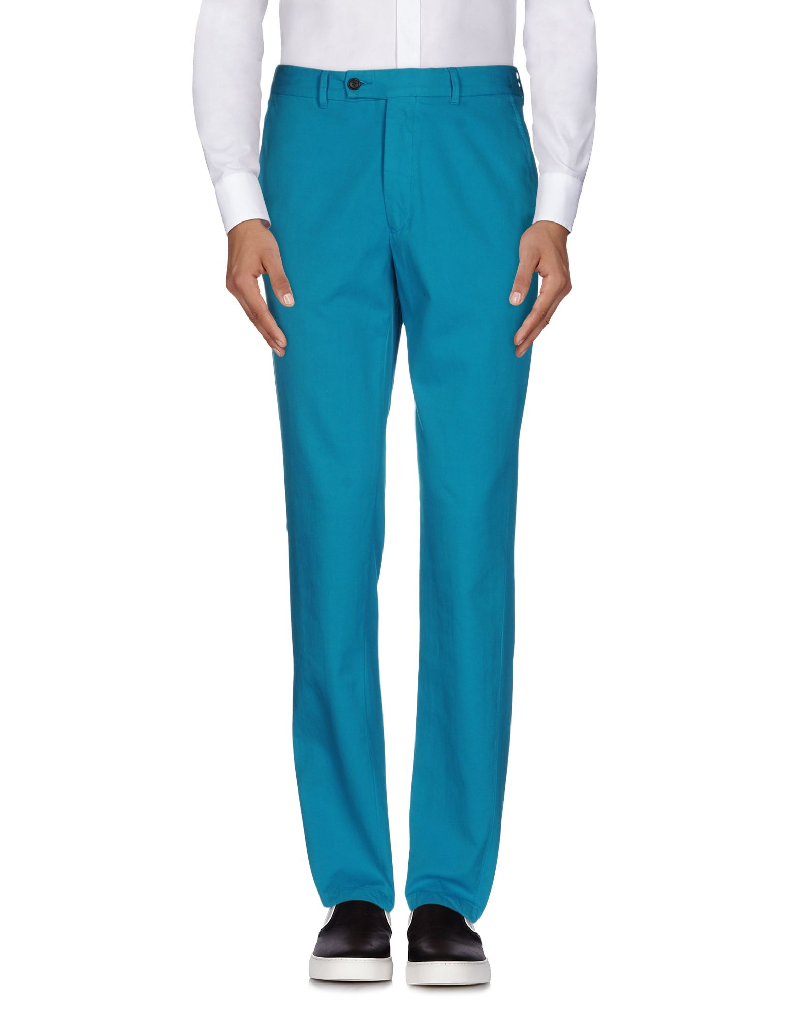 HENTSCH MAN Casual Pants in Turquoise