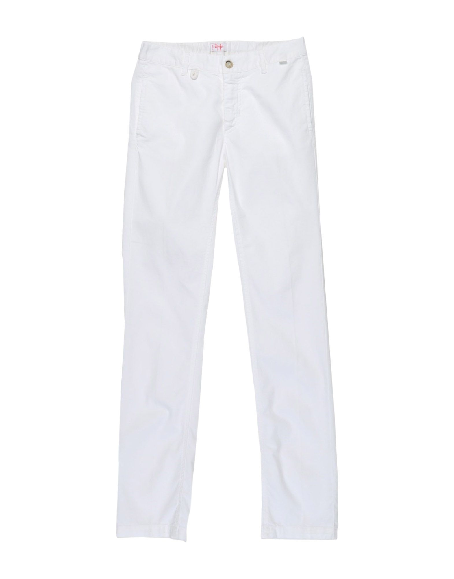 Il Gufo Kids' Casual Pants In White
