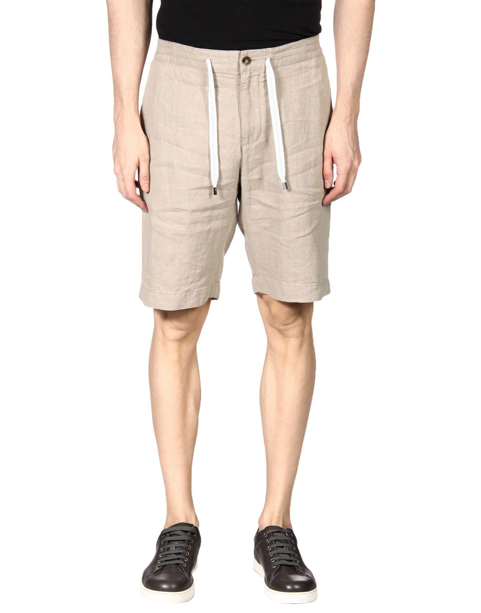 FAÇONNABLE Shorts & Bermuda in Khaki