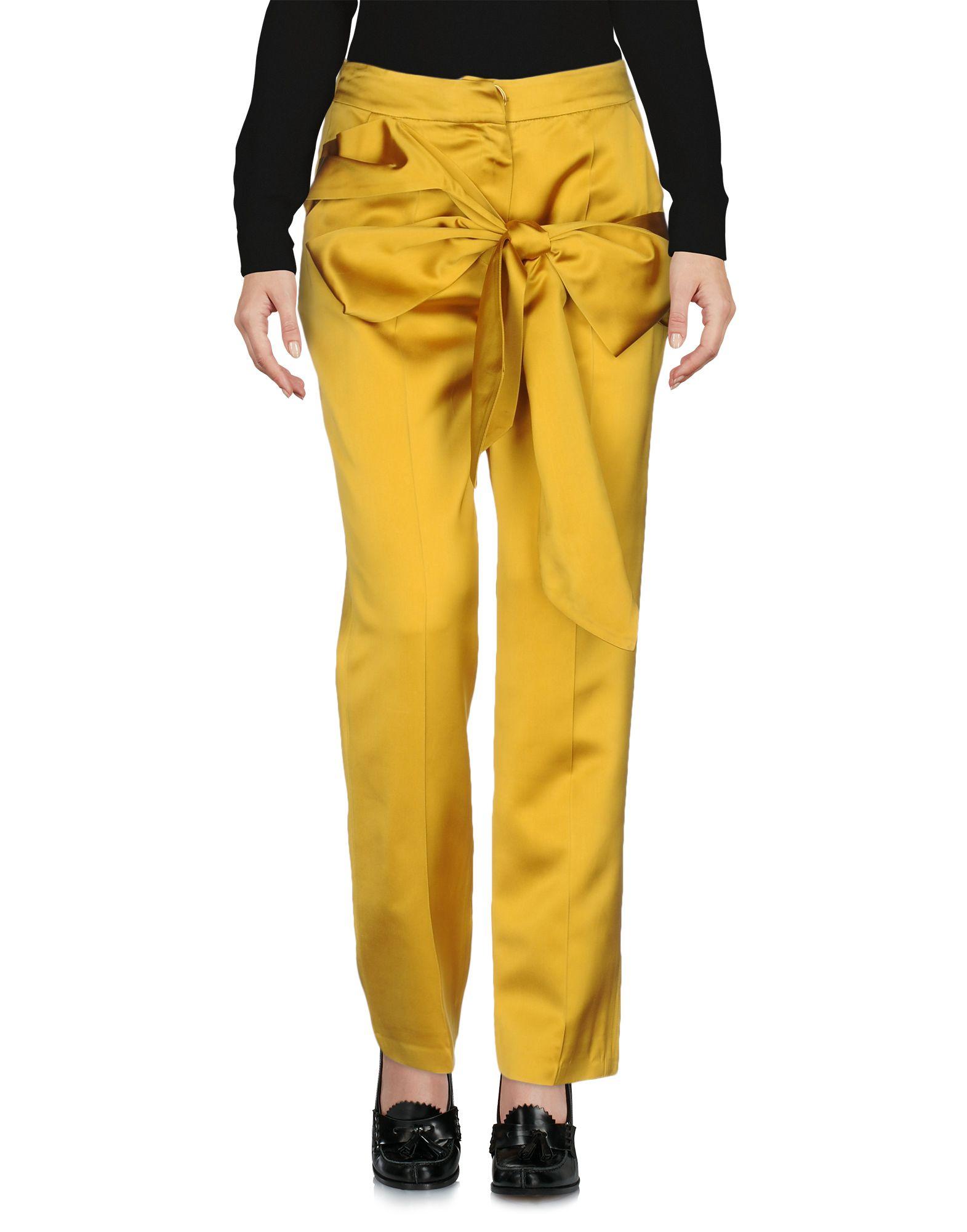 MARIA LUCIA HOHAN Повседневные брюки n26 tuttolente lucia black regular