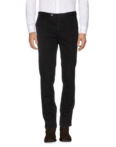 Фото - Повседневные брюки от PT01 темно-коричневого цвета