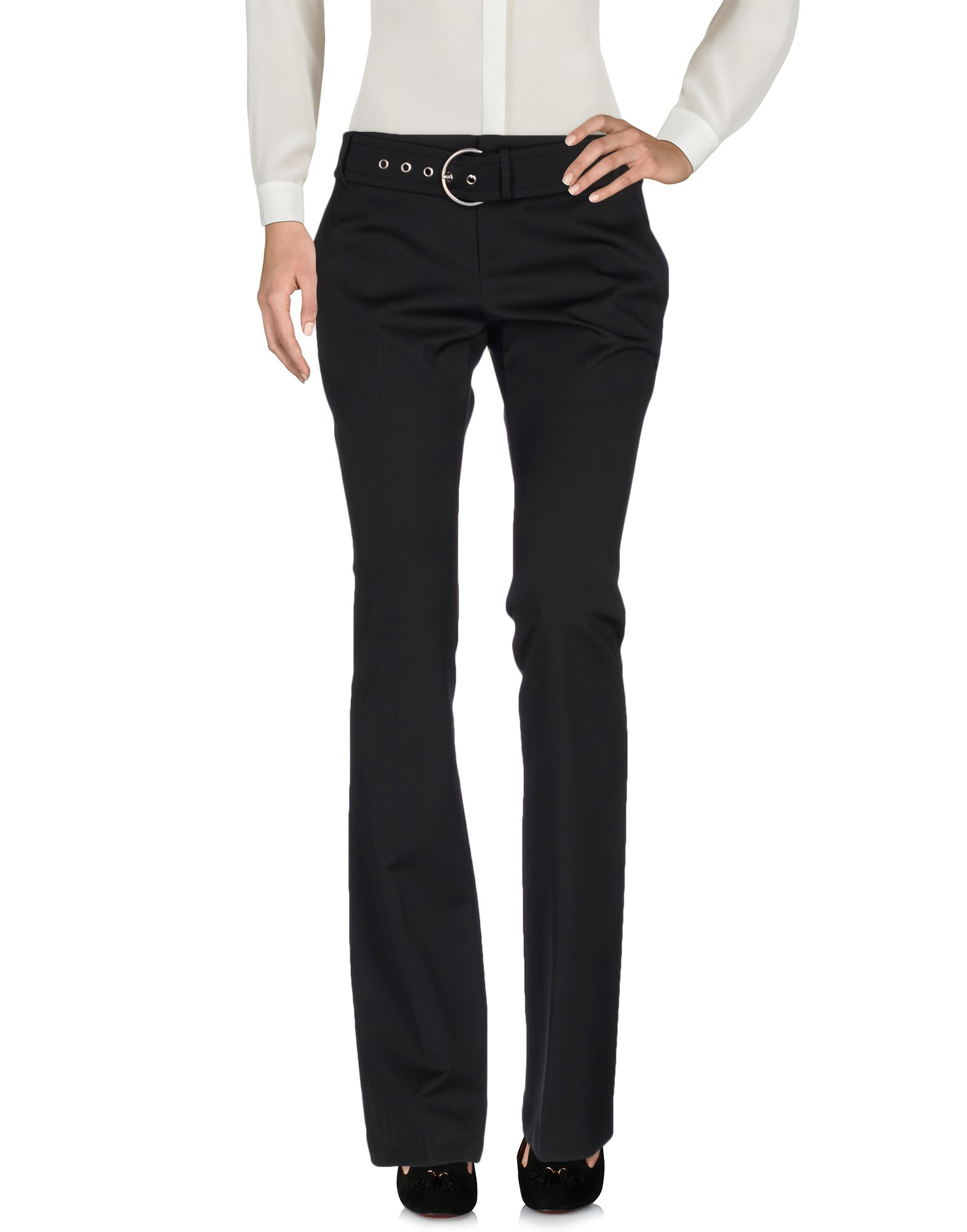 GUCCI Повседневные брюки gucci кожаные ремень с монограммами