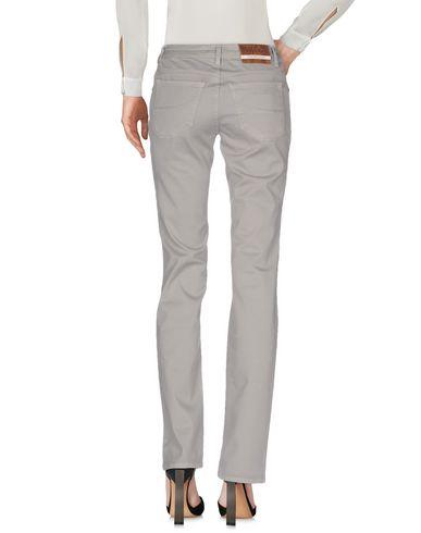 Фото 2 - Повседневные брюки от SIVIGLIA WHITE светло-серого цвета