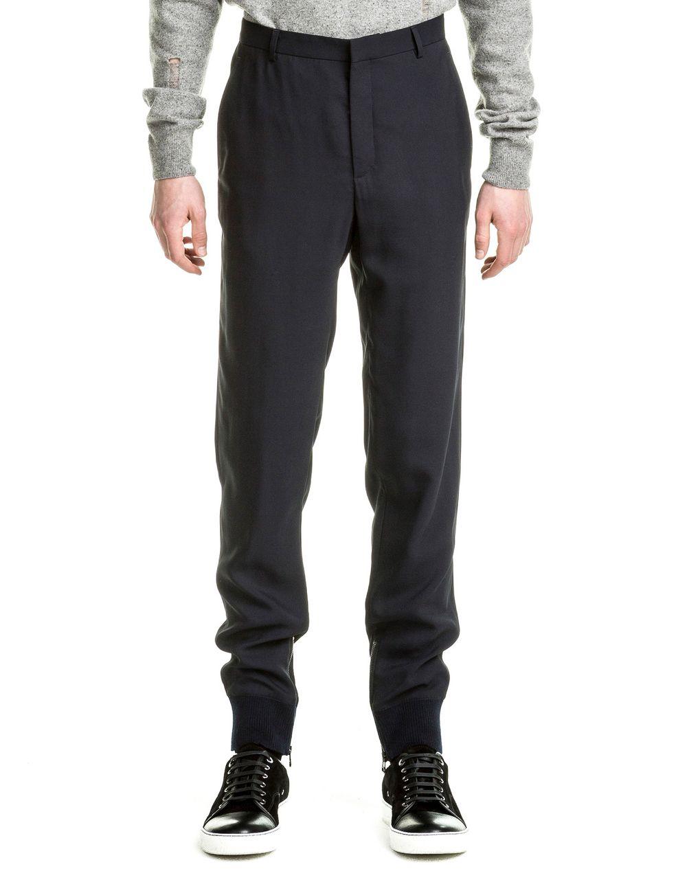 pantalon jogging fluide lanvin pantalon homme boutique en ligne lanvin. Black Bedroom Furniture Sets. Home Design Ideas