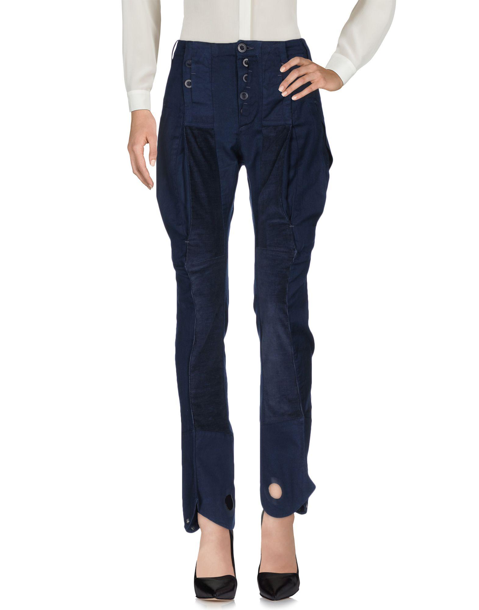 LE JEAN DE MARITHÉ + FRANÇOIS GIRBAUD Повседневные брюки le jean de marithé françois girbaud джинсовая юбка